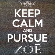 Keep Calm Pursue Zoe – Heather Charcoal