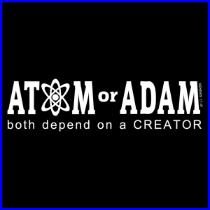 Atom or Adam Icon-Blue