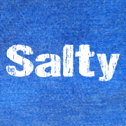 Be Salty – Royal Blue Heather