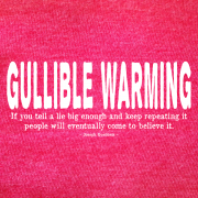 Gullible Warming-Red Heather