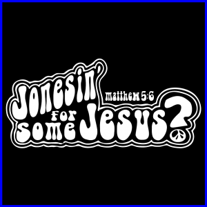 Jonesin for Jesus Icon-Blue