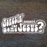 Jonesin for Jesus – Charcoal Heather