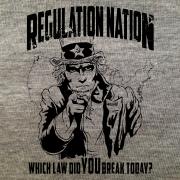 Regulation Nation-Grey Heather