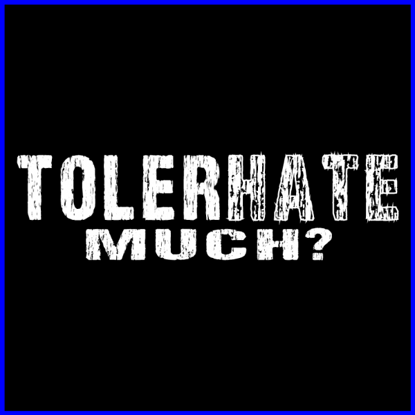 Tolerhate Much Icon-Blue