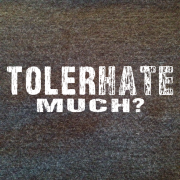 Tolerhate Much-Charcoal Heather