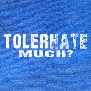 Tolerhate Much-Royal Blue Heather