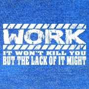 Work -Royal Blue Heather